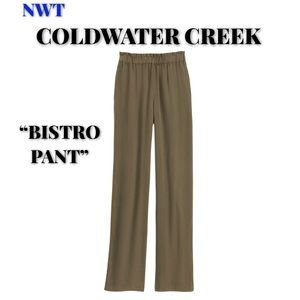 """🆕Coldwater Creek Olive Green """"Bistro"""" Pant, XS"""